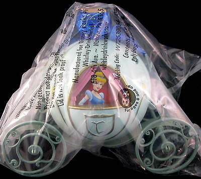 DISNEY Parks CINDERELLA CARRIAGE Coach POPCORN Souvenir BUCKET Magic Kingdom NEW