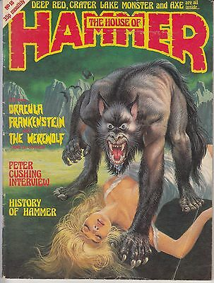 ...'THE HOUSE OF HAMMER'...HORROR MAGAZINE...No.18.MARCH 1978...