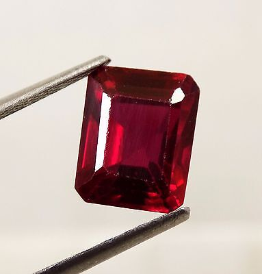 7.20 Cts. Awesome Aaa Blood Red Ruby Emerald Loose Gemstone A