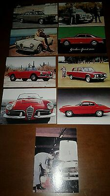 Lotto Cartoline Card Alfa Romeo