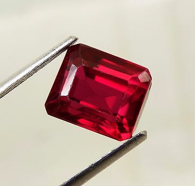 6.90 Cts. Awesome Aaa Blood Red Ruby Emerald Loose Gemstone A