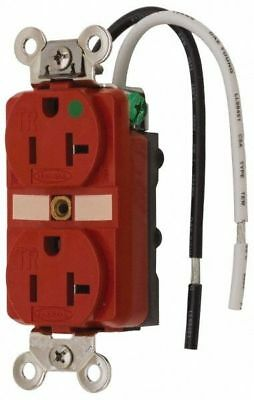 Hubbell 125 VAC 20 Amp 5-20R Self Grounding Duplex Receptacle HBL8300SGRA