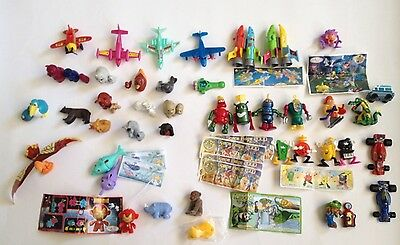 LOT Kinder Surprise Toys Miniatures Nesting Toys Robots + More