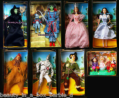 Wizard of Oz Barbie Doll Winkie Guard Wicked Witch Dorothy Munchkins ~ NO BOX 11