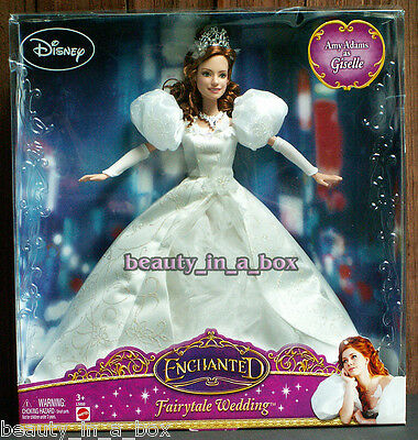 Giselle Enchanted Fairytale Wedding Disney Doll Amy Adams Movie Princess Bride ""