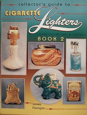 COLLECTIBLE LIGHTER'S $$$ id PRICE GUIDE BOOK Art Deco Novelty Pocket Brass +mor