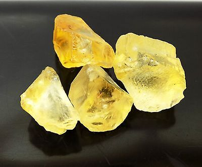 60.10 Ct  Natural Beautiful Loose Brazilian Yellow Citrine Gemstone Rough A