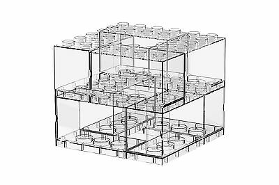 Tiny T-BRICK 8 IN 1 PACKAGE Combination Deckable Display Box Stands Cases