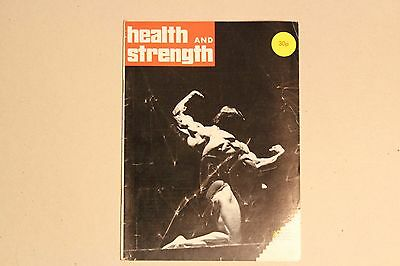 1974 Health & Strength Bodybuilding Muscle Mag Boyer Coe Cover