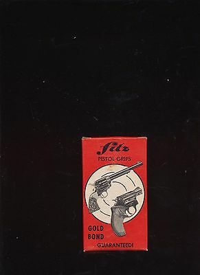 Fitz Pistol Grips Model Bc-S Stag Ruger Bearcat In Original Packaging Made Usa