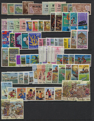 Tokelau 1948 - 1984 Mint / Used Collection & Page Mostly MNH Blocks Etc CV $118