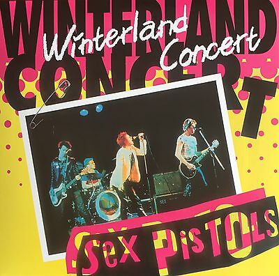 Sex Pistols Winterland Concert VINYL 2 LP Double Set NEW