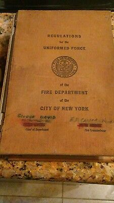 Vintage regulations for the fdny