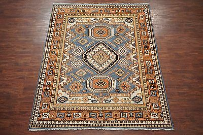 8X10 Karajeh Persian Wool Area Rug Hand-Knotted Oriental Carpet (7.8 x 9.11)