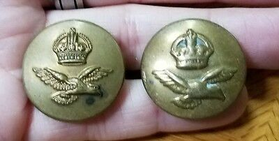Vintage British Royal Airforce Military Coat Buttons J.R. GAUNT & ADAMS