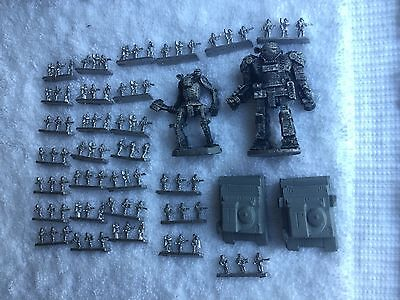 Lot Of Battletech Ral Partha Pewter Minifigures 1986 1987 1988