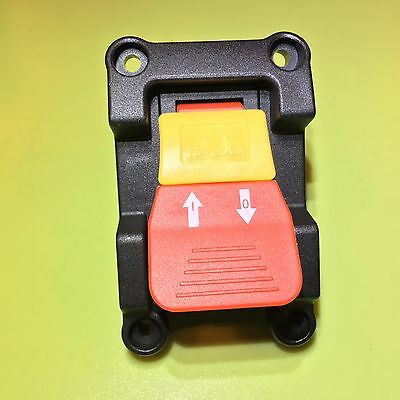Panel Mount Saw Tool Switch W/ Safety Lockout Key Dpst 20A 2Hp