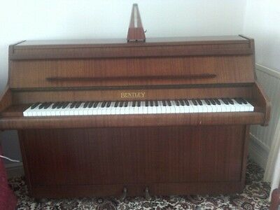 Bentley upright piano excellent condition