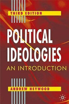 Political Ideologies: An Introduction, Good Condition Book, Andrew Heywood, ISBN