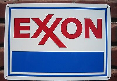 EXXON Gas Pump SIGN Service Station Mobil Garage Mechanic Shop Free Shipping