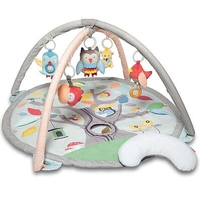 NEW Skip Hop Treetop Friends Infant Activity Gym | Baby Play Mat SILVER