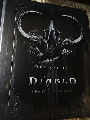 NEW Diablo III 3 Reaper of Souls Artbook Art Book Collector's Edition PC