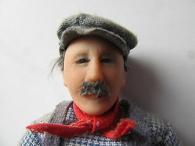 Dollhouse Doll Artist Made Workman & his tools