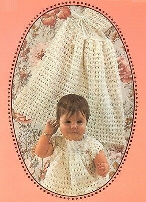 BABY Toddler Crochet Pattern copy Dress Pants Carrying Cape  4 Ply CARDIGAN