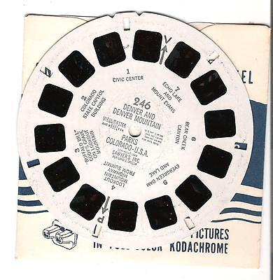 Viewmaster - Reel - U.S. Denver Colorado - # 246