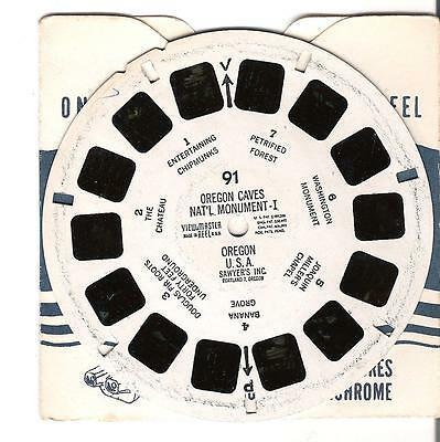 Viewmaster Reel - Oregon Caves - National Monument I - Oregon U.S. - 91