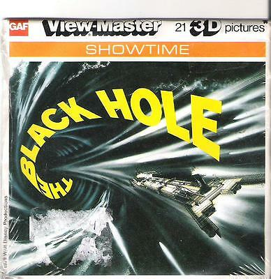 VM31) Viewmaster reels - The Black Hole - 3 reel set - unused NIP New
