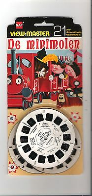 Viewmaster reels - Belguim  - De Minimolen  - 3 reel set - new nip - unused