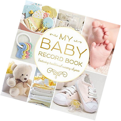 My Baby Record Book Yellow