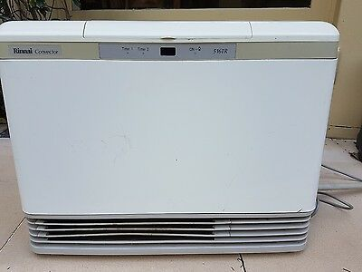 Rinnai 516TR gas heater with remote