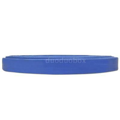 """Tools 50 m 1"""" PVC Flat Water Delivery Hose Discharge Pipe Pump Lay Flat R8R1"""