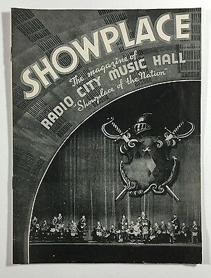 Radio City Music Hall Showplace Program, 1938, Orchestra, Symphony in Color