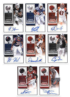 Lot Of (8) 2015 Contenders Rookie Ticket Autograph Auto (No Duplicates) H5995