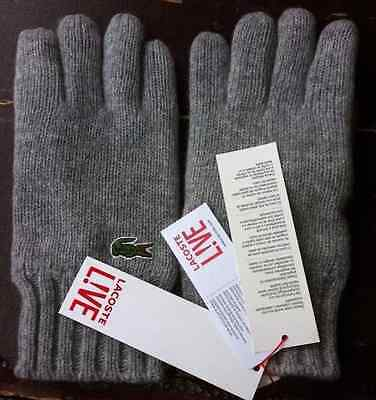 LACOSTE Men's WINTER GLOVES
