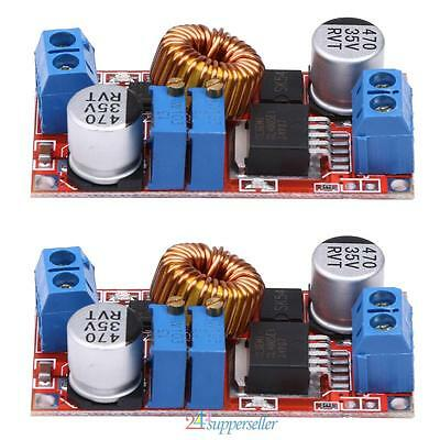 2Pcs 5A Constant Current and Constant Voltage LED Driver Battery Charging Module