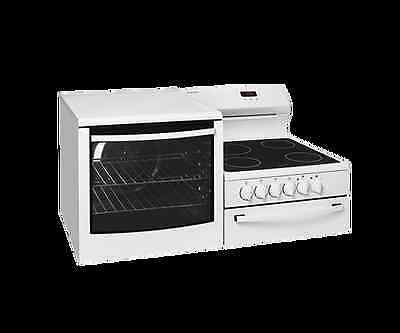 Westinghouse Elevated Fan Forced Electric Ceramic Top Stove - Model: WDE147WA-R
