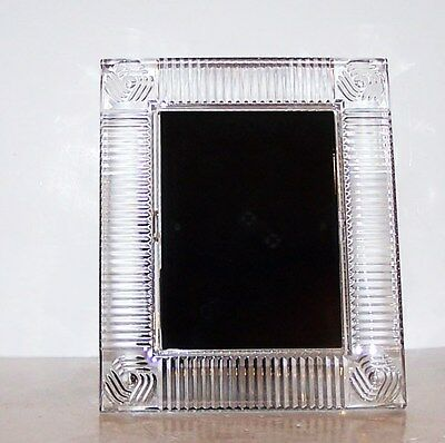 STUNNING SIGNED WATERFORD CRYSTAL PHOTO/PICTURE 5x7 FRAME