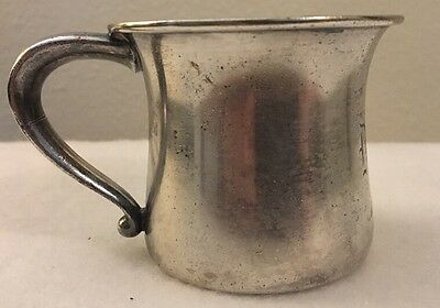 Sheffield Sterling Silver Baby Cup Or Mug