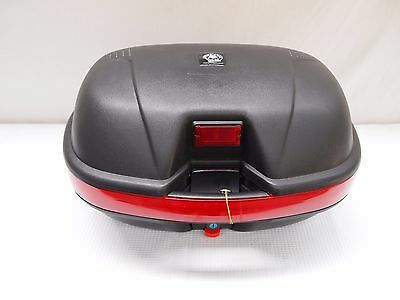 Large 51L Motorcycle Scooter Topbox Rear Storage Luggage Top Box