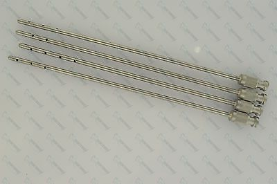 Liposuction Luer Lock Cannulas with handle (15cm-3mm) Set of 4 Pieces