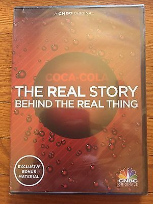 """Coca-Cola The Real Story Behind the Real Thing"" DVD Documentary"