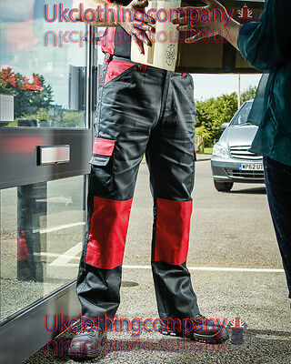 Dickies Mens Everyday Workwear Trouser Combat Knee Pocket Cargo Work Pants Tall