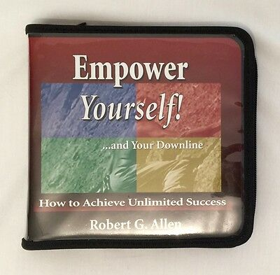 EMPOWER YOURSELF How To ACHIEVE UNLIMITED SUCCESS by Robert G. Allen 6 CD-SET