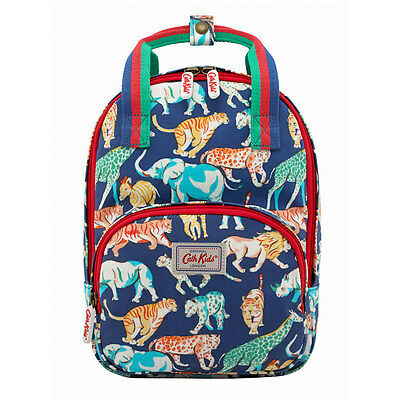 Brand New CATH KIDSTON Kids Navy Safari Animals Medium Backpack