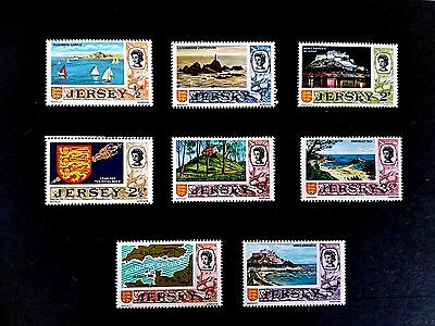 Nice 5 Page Collection of Unused Jersey  Stamps  - Mint & Lightly Hinged