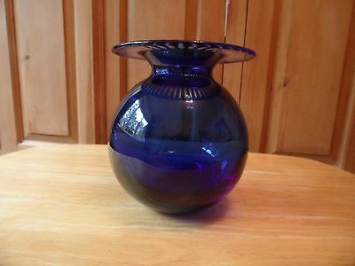 beautiful vintage tiffany & co hand blown vase cost £400 + 15 years ago